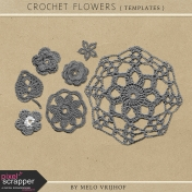 Crochet Flowers- Templates