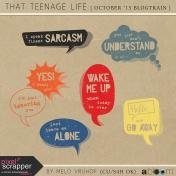 That Teenage Life- TalkBubbles