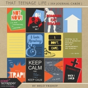 That Teenage Life- 3x4 Journal Cards