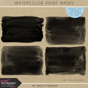 Watercolor Paint Masks
