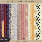 Thankful Harvest- Papers
