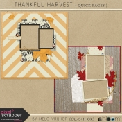 Thankful Harvest- Quick Pages