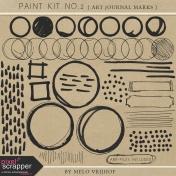 Paint Kit 02- Art Journal Marks