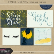 Sweet Dreams- Journal Cards