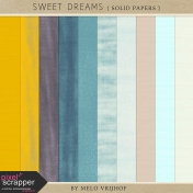 Sweet Dreams- Solid Papers