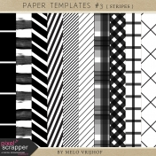 Paper Templates- Stripes