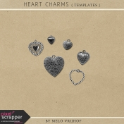 Heart Charms- Templates