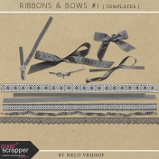 Ribbons And Bows 1- Templates