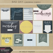 Bad Day- Journal Cards