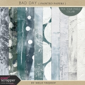 Bad Day- Painted Papers