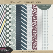Bad Day- Patterned Papers