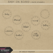 Baby On Board- Date Stamps