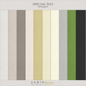 Special Day Solid Papers