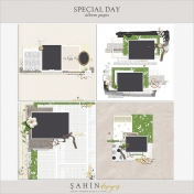 Special Day Album Pages