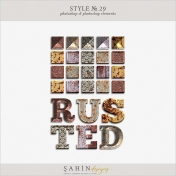 Style No.29: Rusted Metal