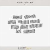 Washi Tapes No.1 Templates