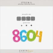Style No.31: Glossy Glitter