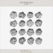 Flowers No.9  Templates