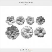 Flowers No.11 Templates