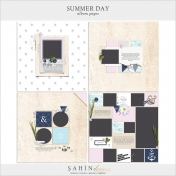 Summer Day Album Pages- PNG