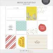 Mexican Food Day Cards