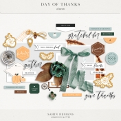 Day of Thanks Elements