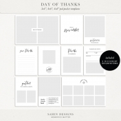 Day of Thanks Photo Templates