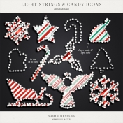 Light Strings & Candy Icons