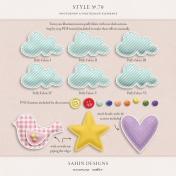 Style No.70: Puffy Fabric