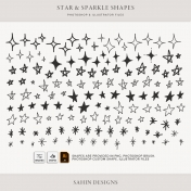 Star & Sparkle Shapes