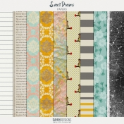 Sweet Dreams Papers Kit