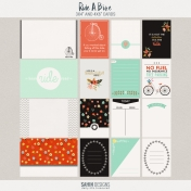 Ride A Bike {journal cards}