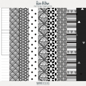 Ride A Bike- Papers & Overlays Template Kit