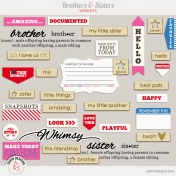 Brothers And Sisters Word Bits Kit