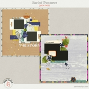Buried Treasures {Layered Quick Pages}