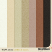 One Of A Kind {Cardstock Papers}