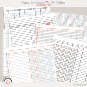 Paper Templates No.4 | Ledger