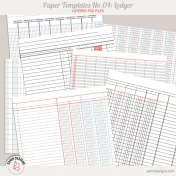 Paper Templates No.4 | Ledger