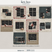 Rustic Charm Album Pages- PNGs