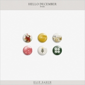 Hello December Brads