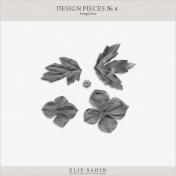 Design Pieces No.4 Templates