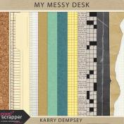 KMRD-My Messy Desk-papers