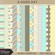 A Good Day- Patterned Papers