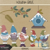 Holiday Birds- Elements