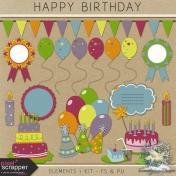 Happy Birthday- elements 1