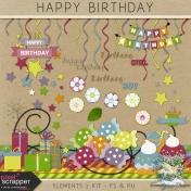 Happy Birthday- elements 2