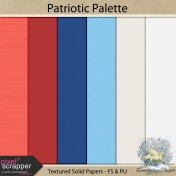 PatrioticPalette_textured solid papers
