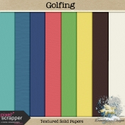 Golfing_Textured Solid Papers