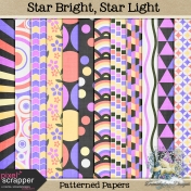 Star Light, Star Bright_patterned papers