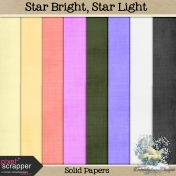 Star Light, Star Bright_solid papers
